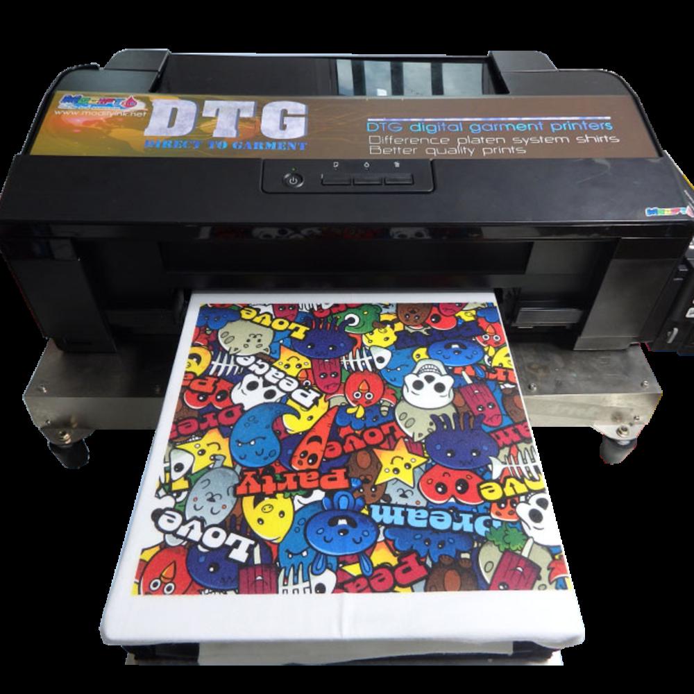 DTG Textlile Printer - เครื่องพิมพ์เสื้อระบบพิมพ์ตรง